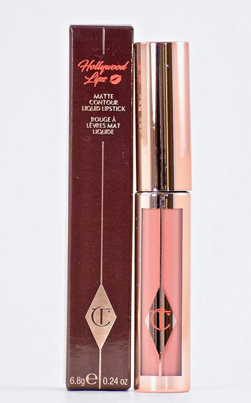 Charlotte Tilbury Hollywood Lips Matte Contour Liquid Lipstick - Pin Up Pink