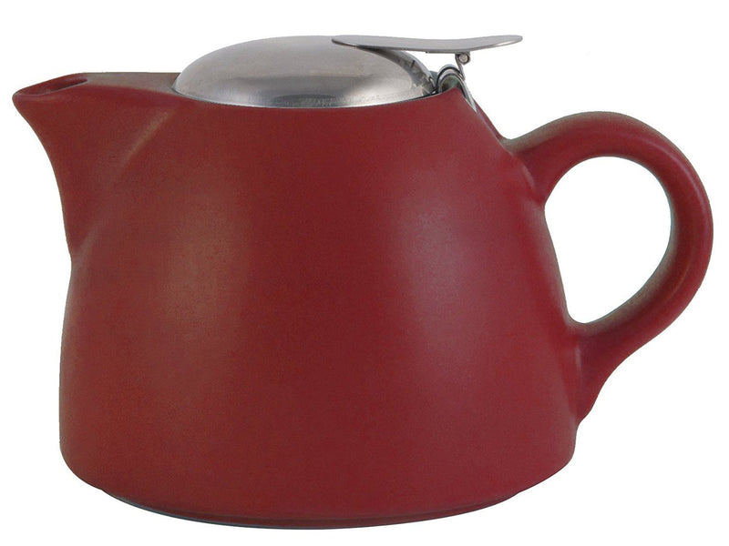 La Cafetiere Barcelona Teapot with Infuser, 450 ml - Red