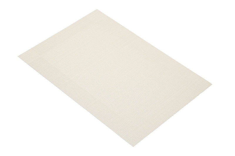 KitchenCraft Woven Vinyl Placemat, 45 x 30 cm (17.5' x 12') - Putty Grey