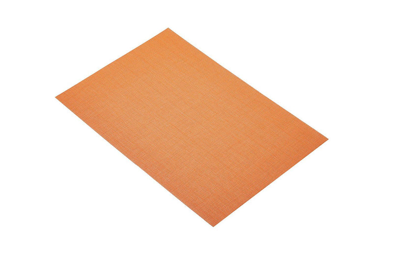 Kitchen Craft Woven Vinyl Placemat, 30 x 45 cm (12' x 17.5') - Orange