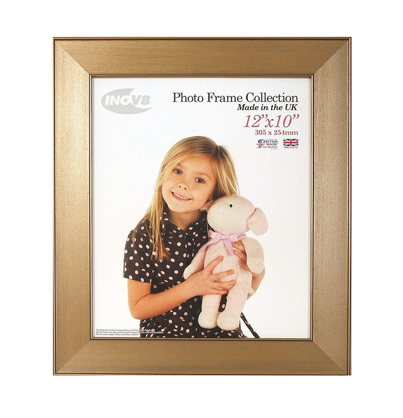 Inov8 12 x 10-Inch British Made Picture/Photo Frame, Twin Edge Bronze
