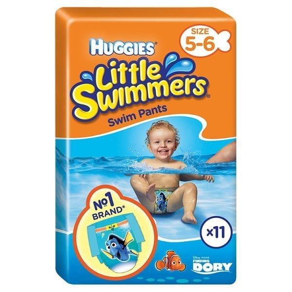 Huggies Little Swimmers Swim Pants Size 5-6 12-18kg Pack of 11