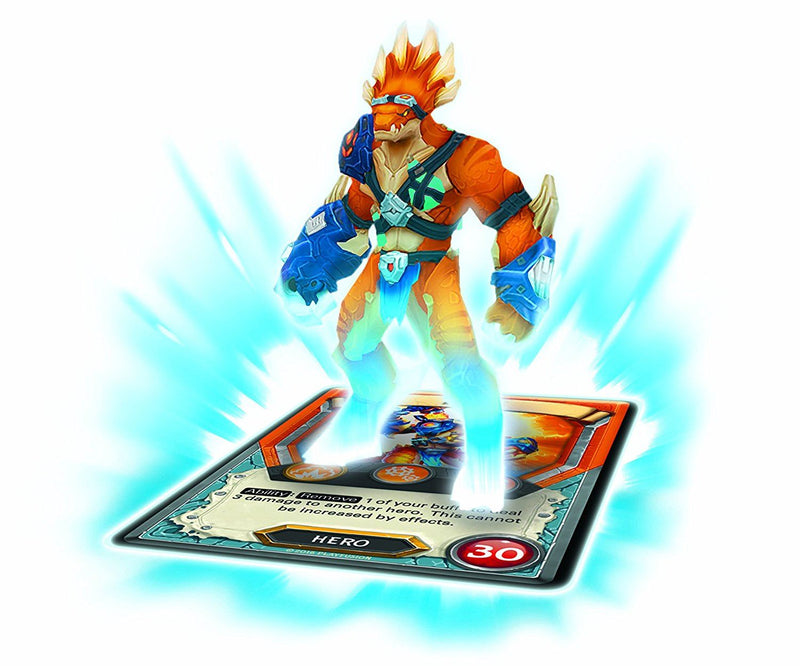 Lightseekers Tyrax Starter Figure Pack Action Figure Set - Includes 7 inch action figure with fusion core mini computer, augmented reality cards and exclusive weapon accessory