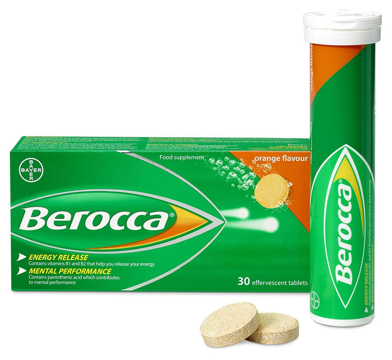 Berocca Orange Energy Vitamin 30 Tablets