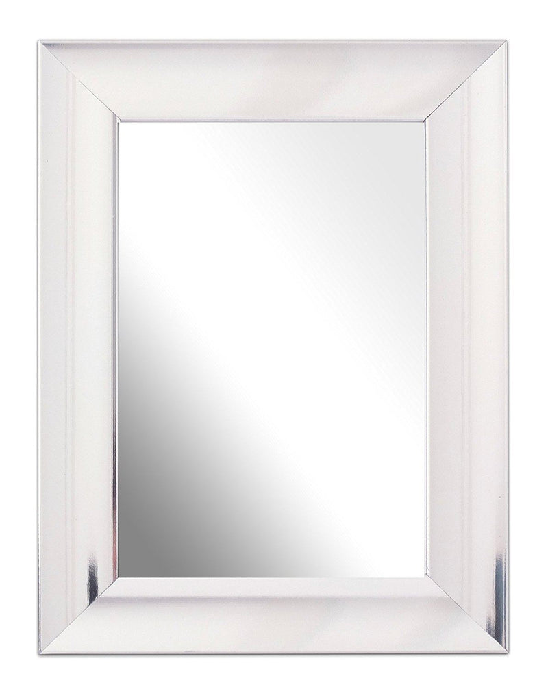 Inov8 6 x 4-Inch British Made Traditional Mirror, Scoop Chrome