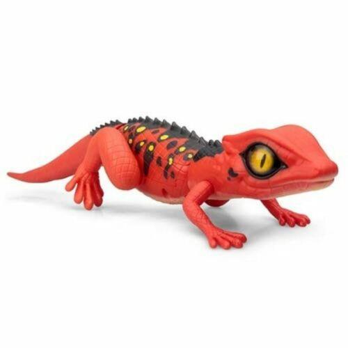 Zuru Robo Alive Lurking Lizard Robotic Pet Red Saharan