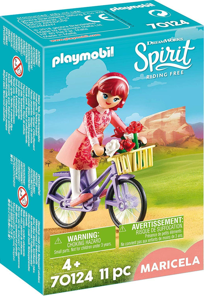 Playmobil - Spirit: Riding Free: Maricela with Bicycle