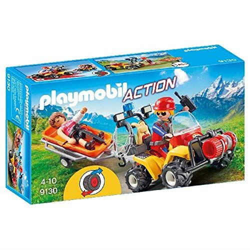 PLAYMOBIL 9130 Mountain Rescue Quad