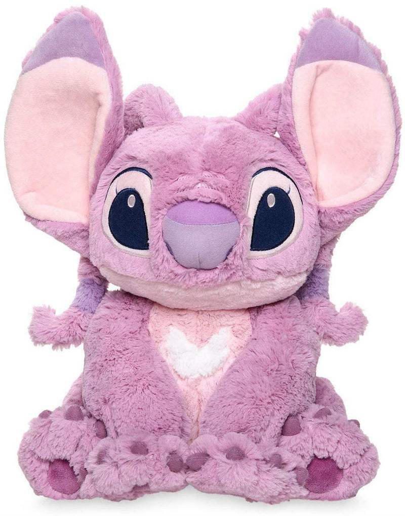 Official Disney Lilo & Stitch 37cm Medium Pink Angel Plush