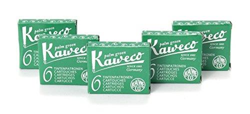 Kaweco Fountain Pen 30 ink cartridges short green