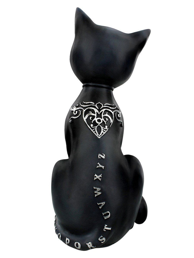 Grindstore Mystic Kitty Ornament Black 26cm