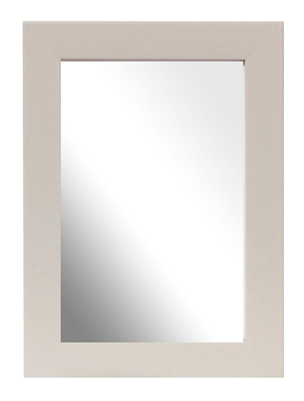 Inov8 British Made Traditional Mirror, 8x6-inch, Soft Grey
