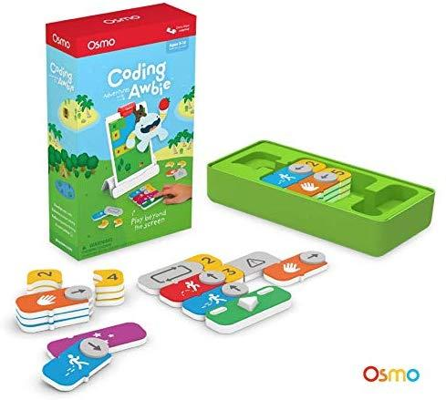 Osmo - Coding Awbie Game - Ages 5 - 12 - Coding & Problem Solving - For iPad and Fire Tablet (Osmo Base Required)