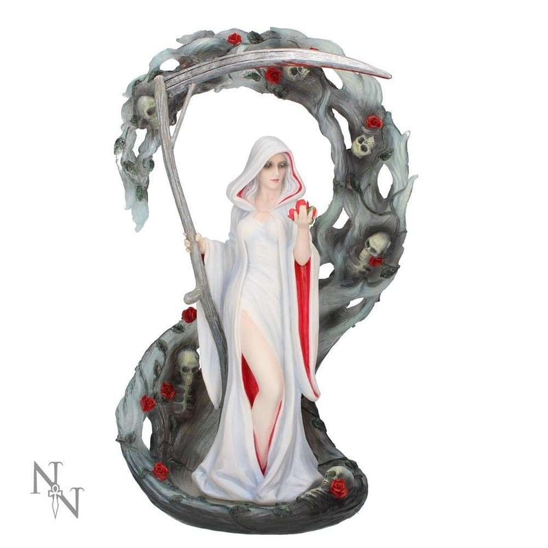 Anne Stokes - Pale Lady Reaper (Life Blood) Holding Scythe Statue
