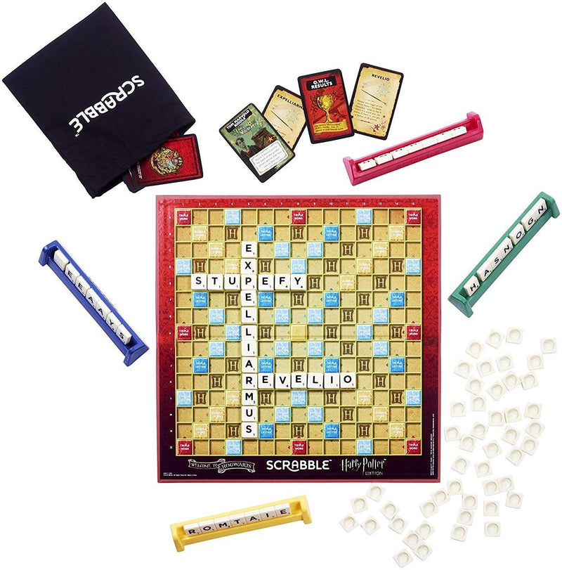 Harry Potter Scrabble Deluxe Limited Edition