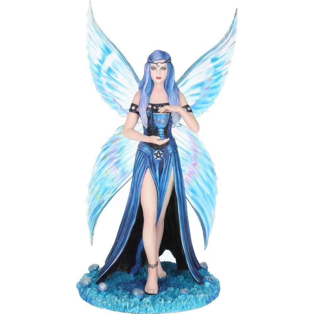 Anne Stokes - Enchantment Blue Butterfly Fairy Statue