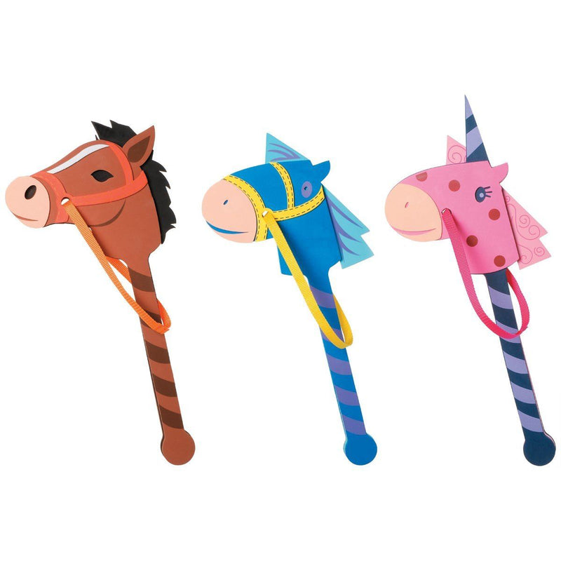 Darice Foam Kit-Horse On A Stick