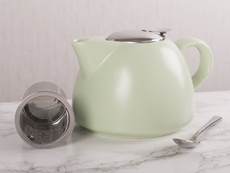 La Cafetiere Barcelona Teapot with Infuser, 900 ml - Pistachio
