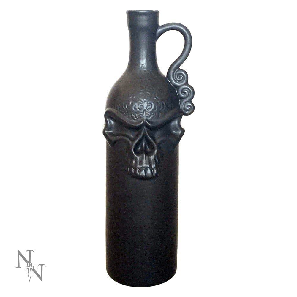 Nemesis Now Decadent Death Decanter  Bottle 28cm Black