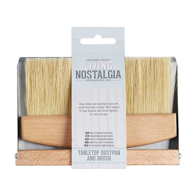 Kitchencraft Nostalgia Dustpan And Brush