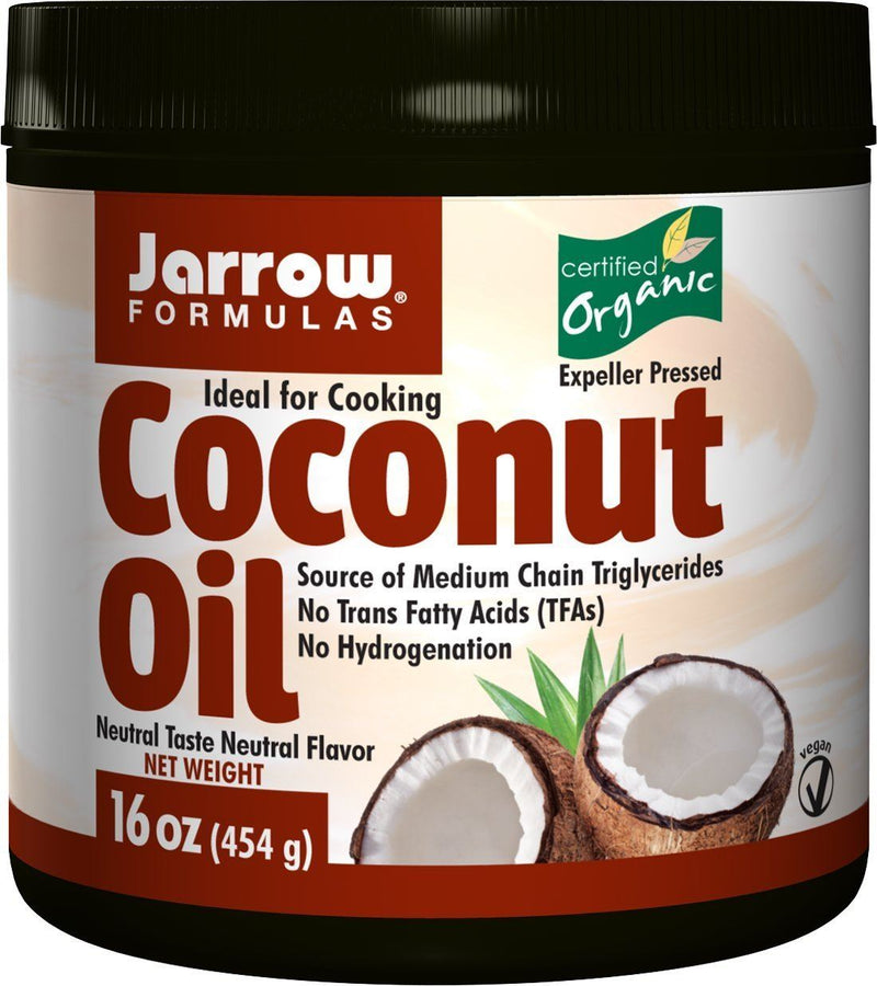 Jarrow Formulas Organic Coconut Oil - 473ml