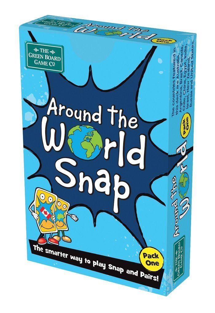 Around The World Snap (Pack 1)