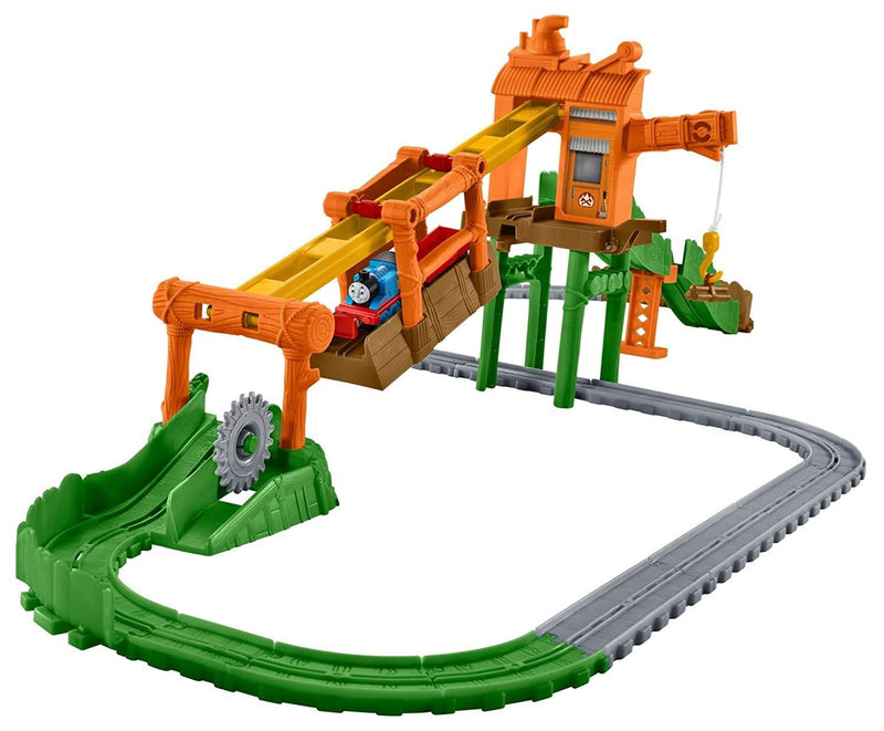 Thomas & Friends FBC60 Adventures Misty Island Zip-line Playset, Multi-Colour