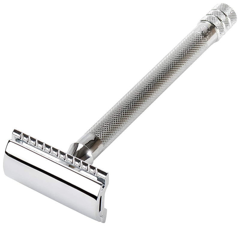 Merkur 24C Extra Long Handle Safety Razor - No Blades Included