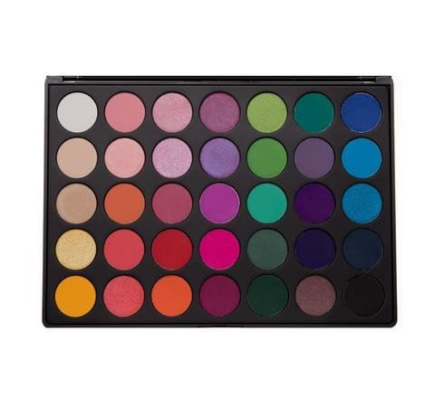 MORPHE 35B - 35 COLOR GLAM EYESHADOW PALETTE, NEW