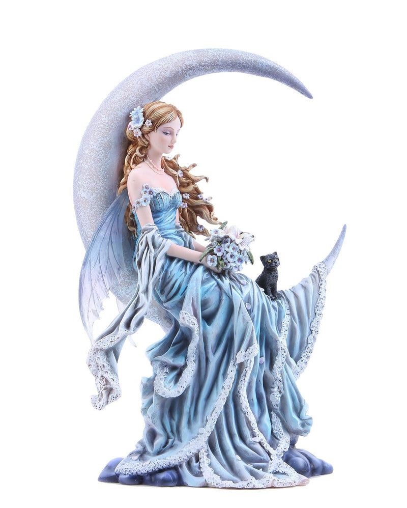 Nemesis Now Four Elements Celestial Wind and Moon Fairy Figurine 30cm