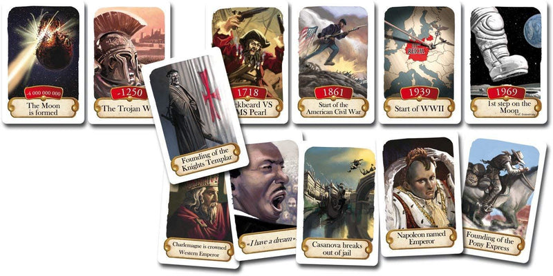 Asmodee Timeline: Historical Events
