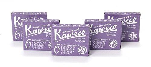 Kaweco Short Ink Cartridges Pack of 30 Purple Violet