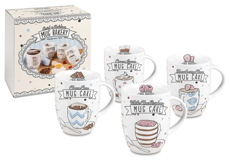 Könitz 11 5 103 1818 Mugs Bakery Set of 4 Pieces