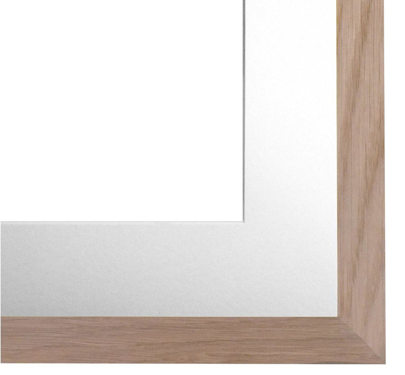 Elizabeth Carrington Premium High Quality, Solid Oak, Photo/Picture Frame, Milan Range, 16x12 Inch with 12x18 Inch Removable White Mount, British Made, 100% Timber and PFEC Sourced