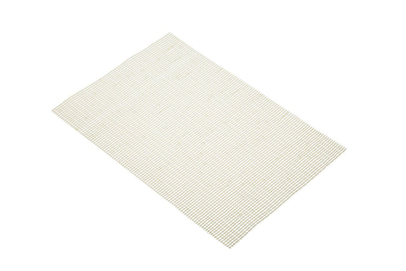 Kitchen Craft Woven Vinyl Placemat, 30 x 45 cm (12' x 17.5') - Metallic Gold
