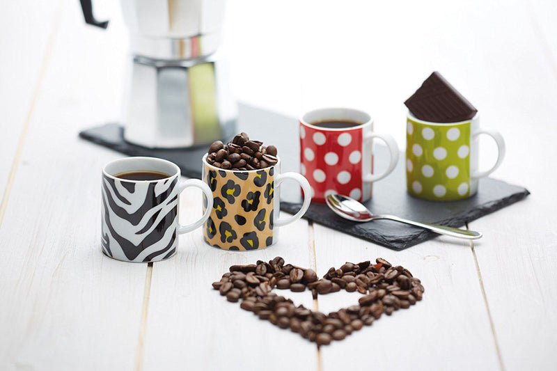 Kitchen Craft - Porcelain Espresso Mug - Zebra - 80ml