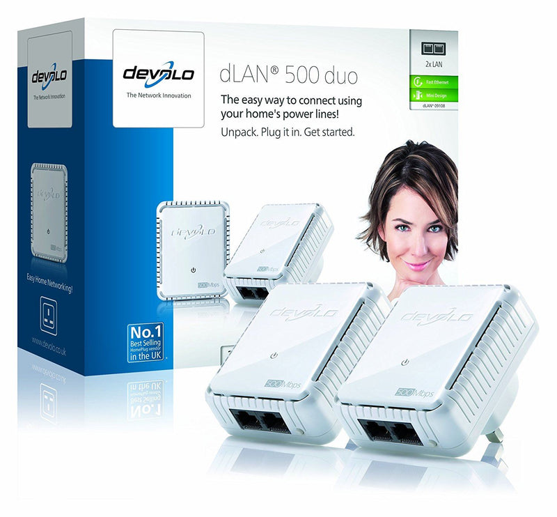 Devolo dLAN 500 duo Powerline Starter Kit
