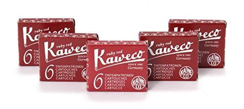 Kaweco Fountain Pen 30 ink cartridges short red