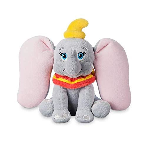 Disney Official Store Sitting Dumbo Mini Bean Bag Soft Plush Toy 17cm Tall