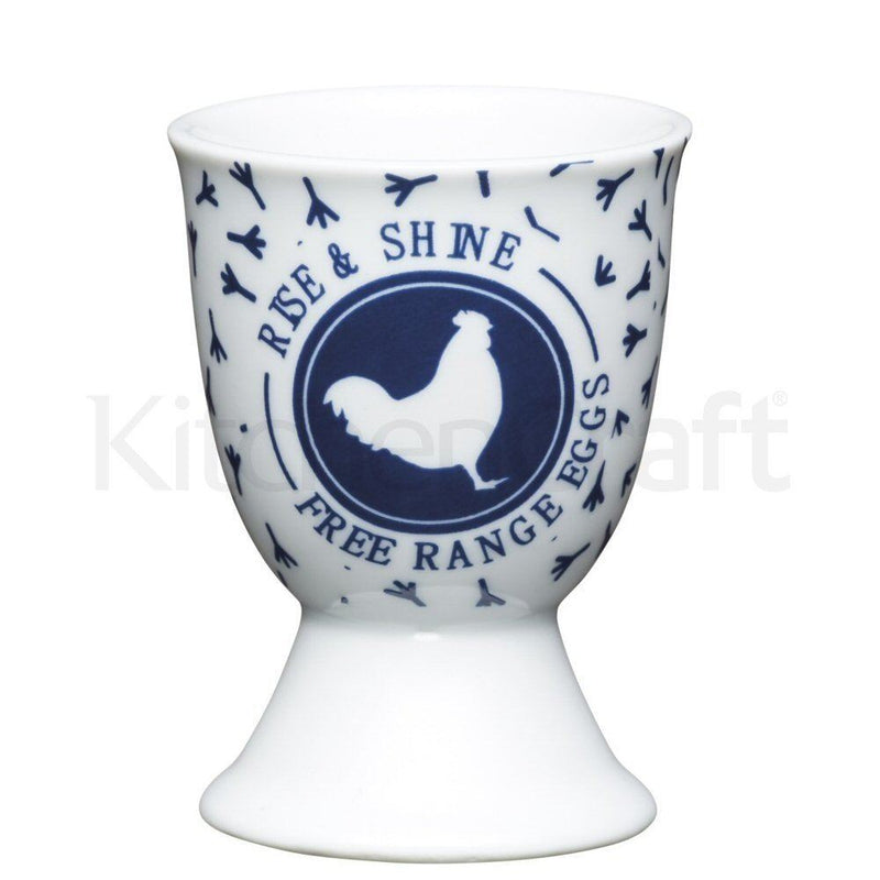 Kitchen Craft - Porcelain Egg Cup - Traditional Blue Hen