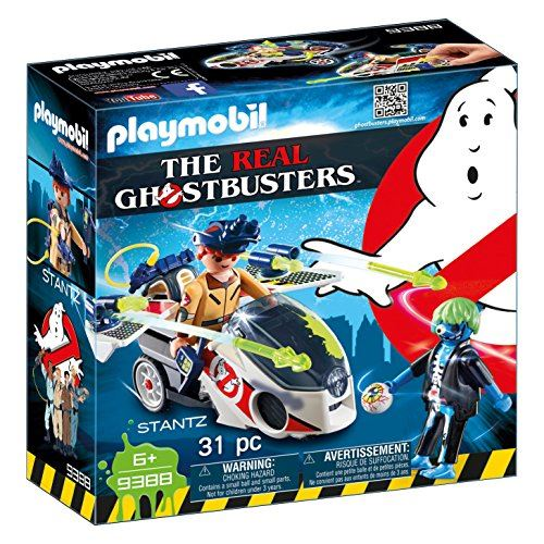 Playmobil Ghostbusters 9388 Stantz with Skybike for Children Ages 6+