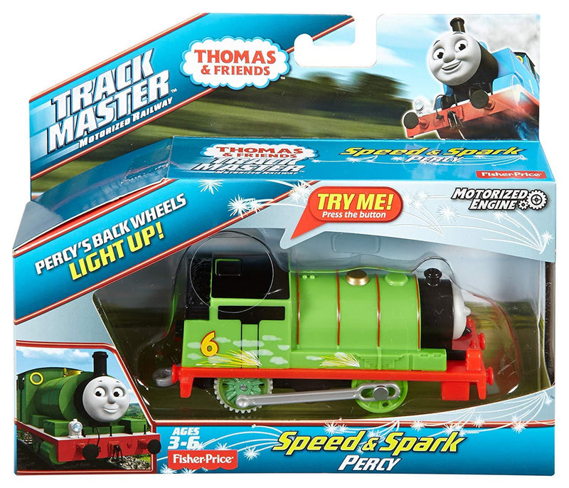Thomas & Friends DVG05 TrackMaster Speed and Spark Percy Engine