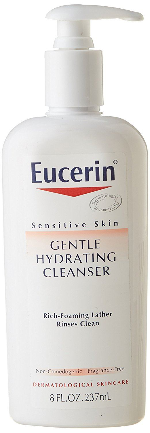 Eucerin Sensitive Skin Gentle Hydrating Cleanser 235 ml