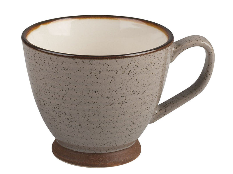 La Cafeti re Small Textured Brown Teacup
