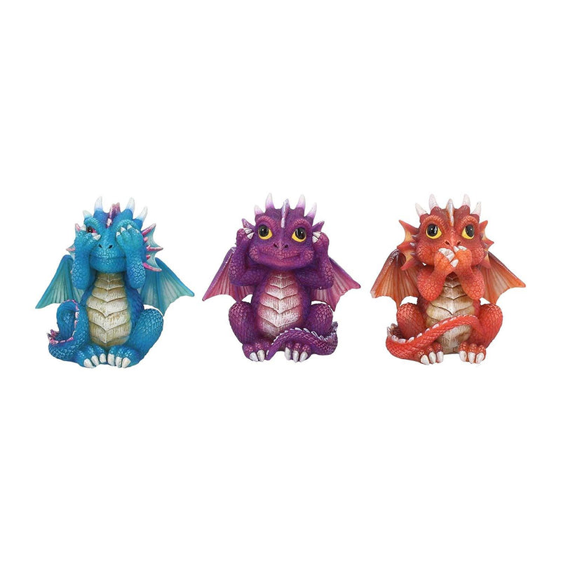 Nemesis Now Three Wise Dragonlings Figurines Dragon Ornaments