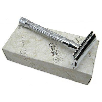 Merkur 23C Long Handle Safety Razor - No Blades Included