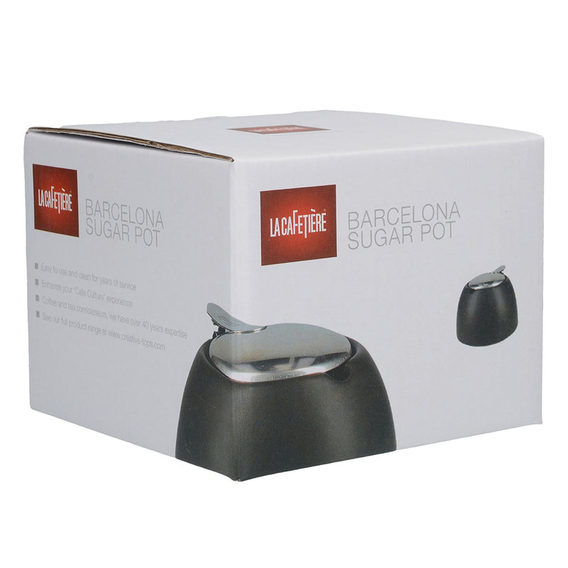 La Cafetiere Barcelona 450ml Sugar Pot Black