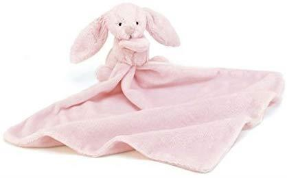 Jellycat? Bashful Pink Bunny Soother Blankie by Jellycat