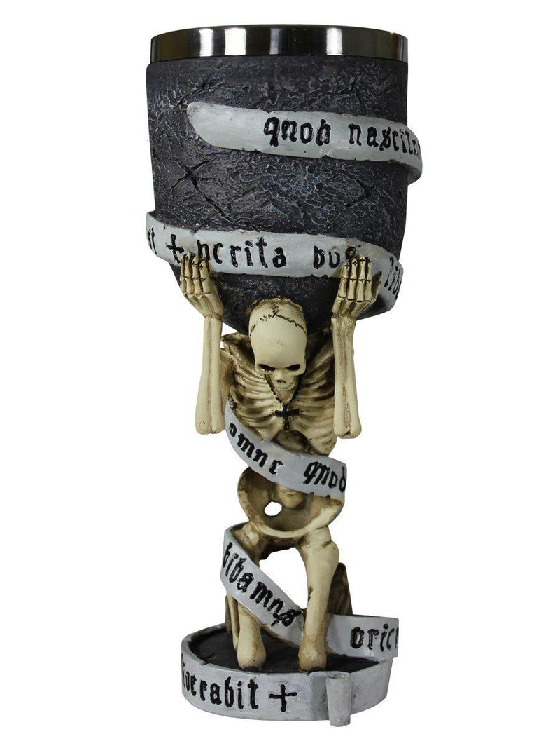 Gothic Skeleton The Truth Goblet
