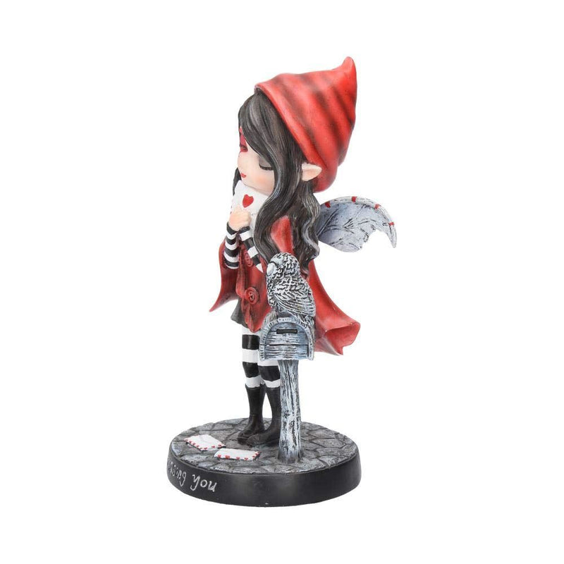 Nemesis Now Missing You  Figurine 24cm Red